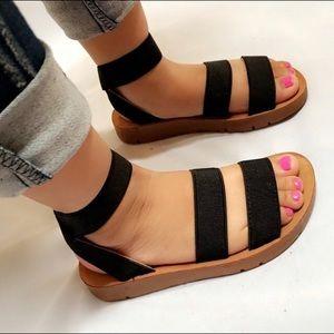 New elastic bands sandals